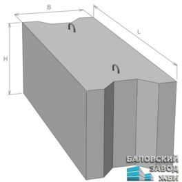 Фундаментные Блоки ГОСТ 13579-78